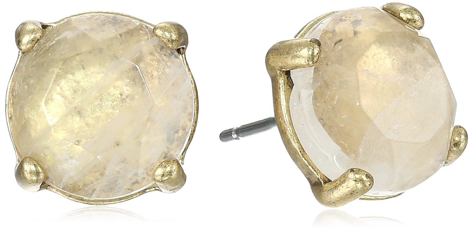Lucky Brand Women's Rock Crystal Stud Earring