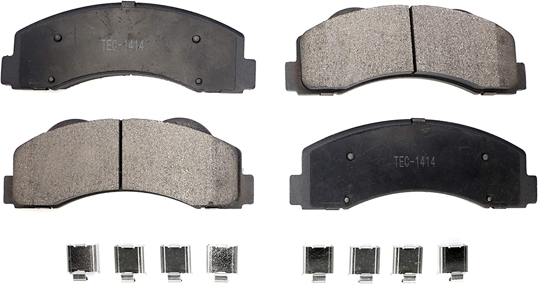 Technical Engineered Ceramic TEC-1414 Brake Pad Set With Abutment Kit