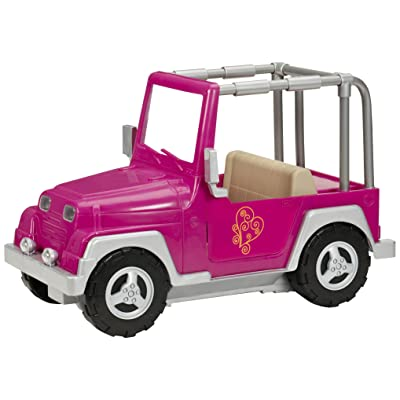 Our Generation 4x4 Jeep (Fuchsia): Toys & Games