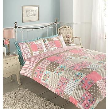 lujo reversible king juego de ropa de cama funda de edredn colcha ropa de cama
