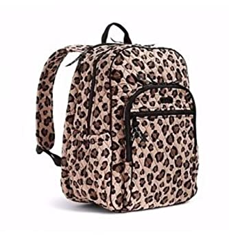 dba6c21d5462 Amazon.com: Vera Bradley Large Campus Backpack Leopard Print: NITRO-GEN