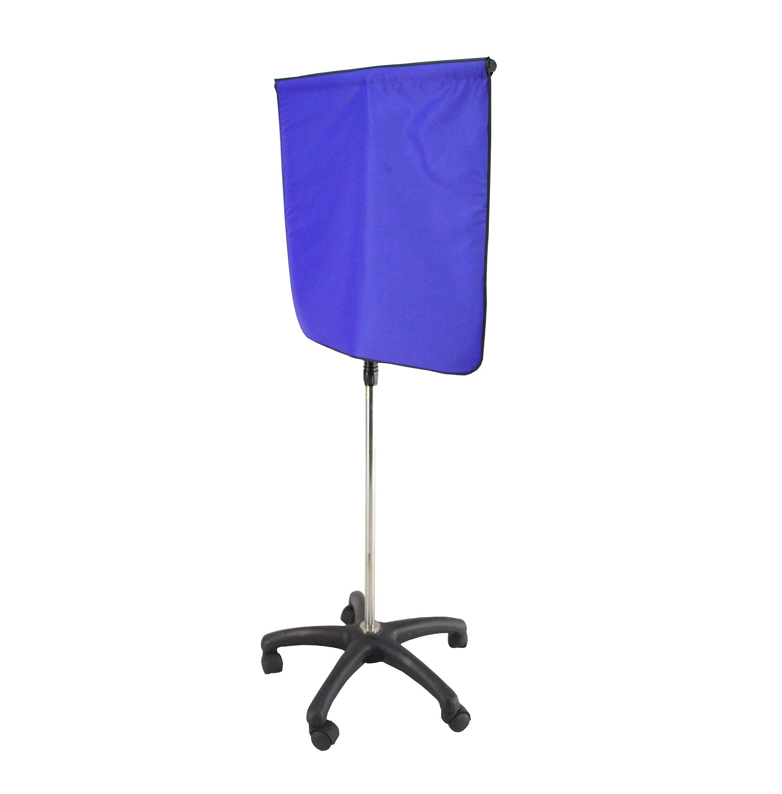 FixtureDisplays Porta-Shield Standard 28.5''-54.5''H for X-Ray MRI CT Radiation Protection 15676