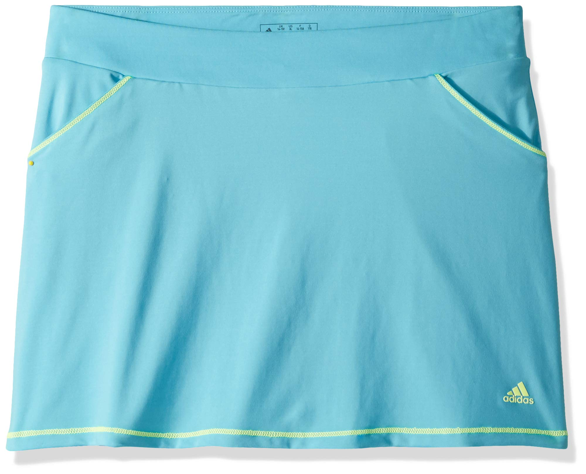 adidas Golf Printed Golf Skort, Bright Cyan, Medium by adidas