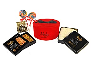 Luxury Gourmet Gift Baskets, Chocolate Fruits & Nut, Baklava Hampers for Mother's Day, Easter, Valentine's, Holiday, Birthday, Women, Men, Corporate Gifts, Delights Basket, Tea / Coffee Time Hamper