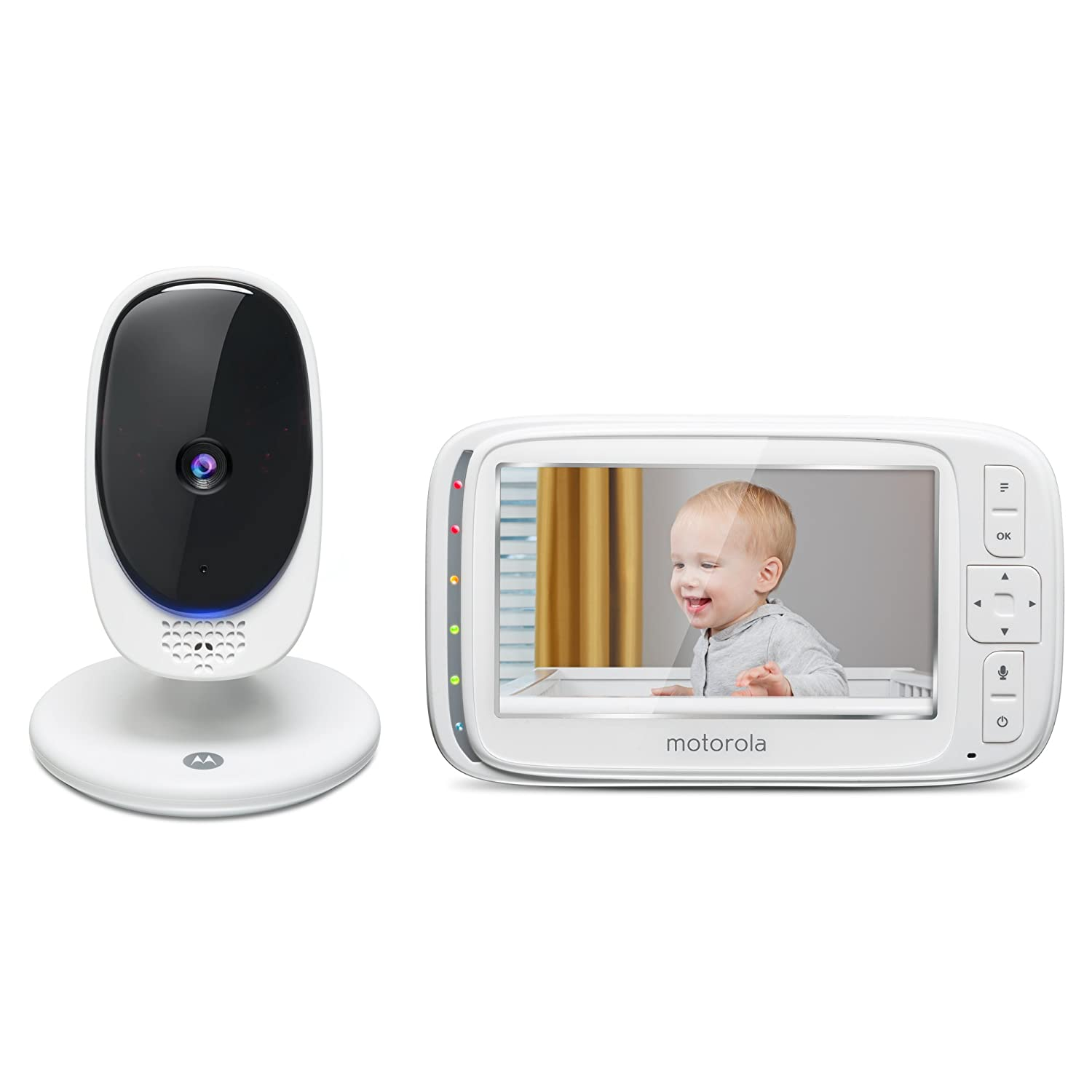 Motorola Comfort 50-2 Digital Video Audio Baby Monitor with 5-Inch Color Screen and 2 Cameras Exclusive Group COMFORT50-2