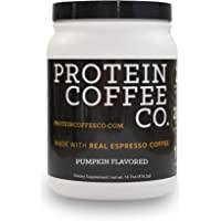 Protein Coffee Co. Nutrition Shake - Coffee Protein With 20g Of Protein And 2 Shots Of Espresso - Coffee Protein Powder Made With Real Coffee For A Boost Of Energy - Keto Friendly MCT