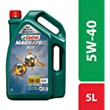 Castrol MAGNATEC SUV 5W-40 Full Synthetic Engine Oil for Petrol, CNG and Diesel SUVs (5L)