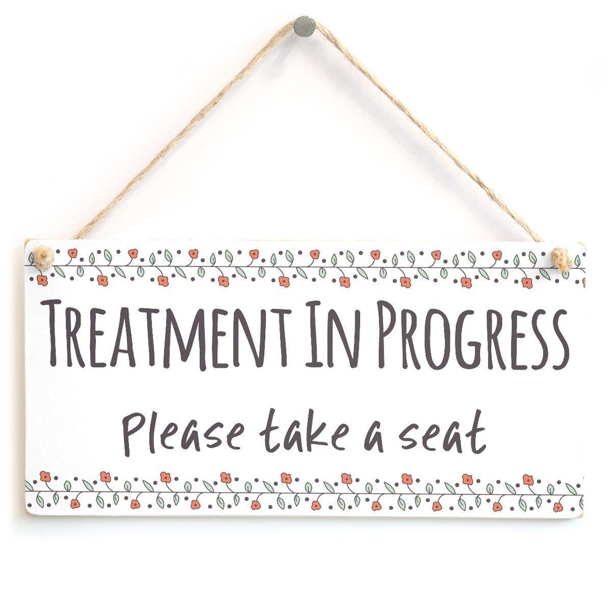 Tratamiento en progreso por favor Take A asiento - funcional ...