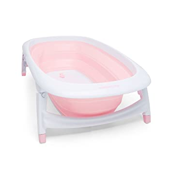 Mothercare Foldable Baby Bath (Pink): Amazon.co.uk: Baby