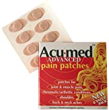 Acumed Pain Relief Patches - Effective For Back, Neck, Knee & Arthritic Pain with Magnetic Therapy (7 packs of 8)