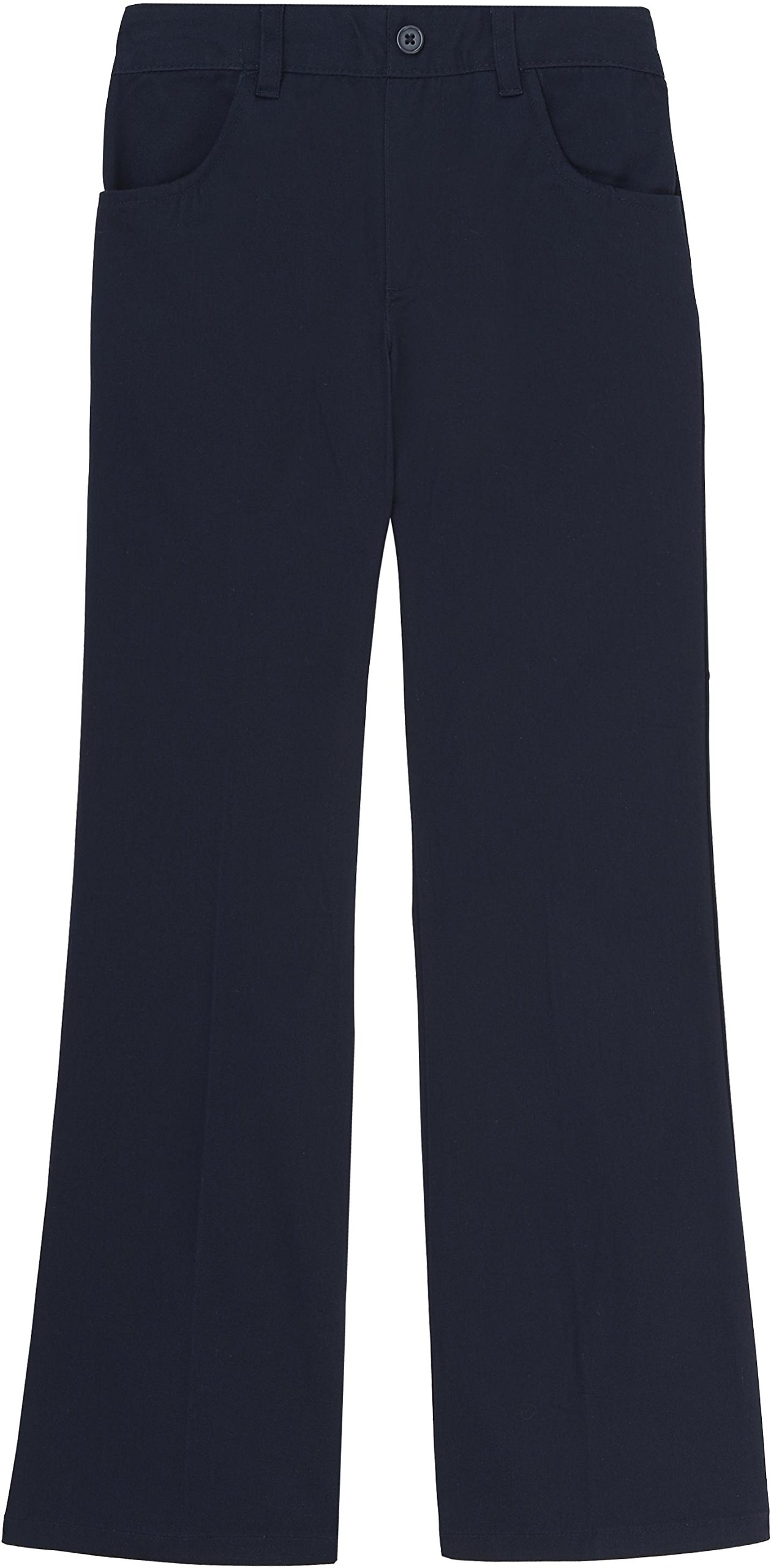 French Toast School Uniform Girls Pull-On Pants, Navy, 4T