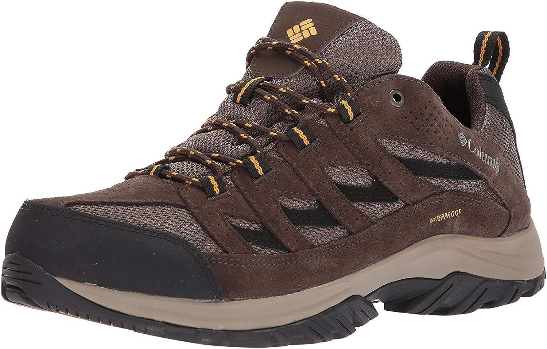   Columbia Men's Crestwood Waterproof Hiking Shoe   Hiking Boots