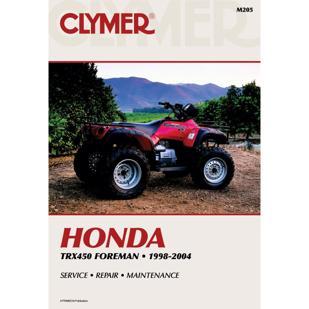 Clymer Honda TRX450 Foreman (1998-2004)