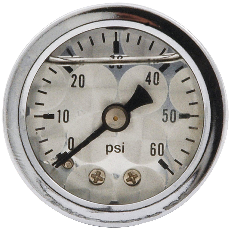 Allstar Performance ALL80216 0-100 PSI 1-1/2' Dry Type Shockproof Pressure Gauge