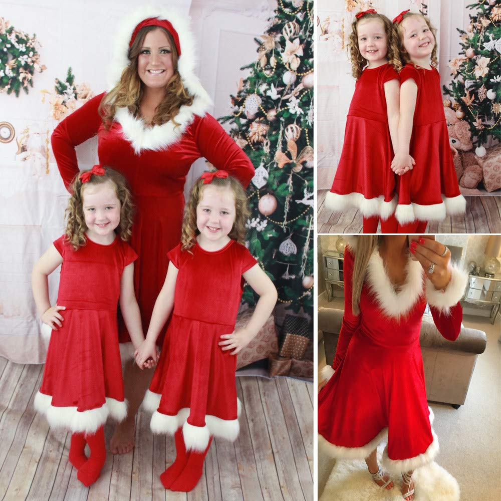 Subfamily Christmas Mother Child Child Baby Girl Princess Dress Family Matching Clothing 2zh6 Years.: Amazon.es: Ropa y accesorios