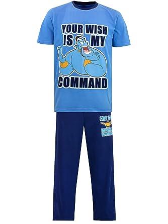Pijama Azul Celeste de una Pieza Genio Aladdin Disney
