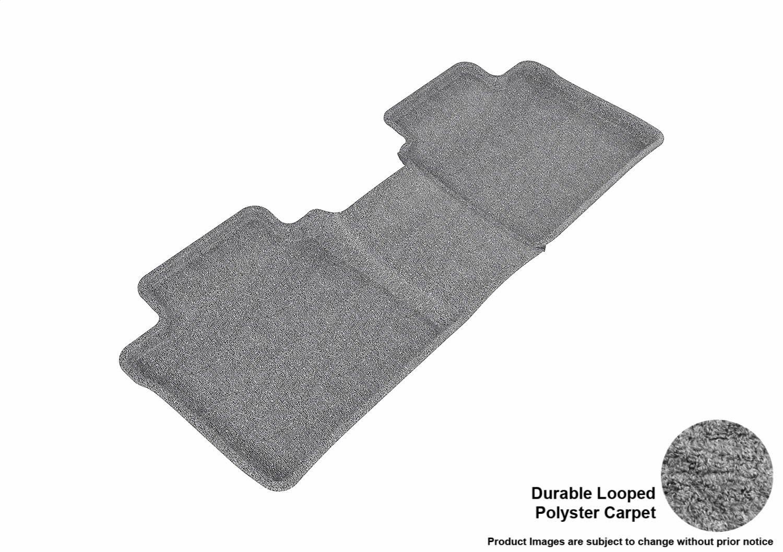 L1TY00422201 Classic Carpet Gray 3D MAXpider Second Row Custom Fit Floor Mat for Select Toyota Camry//Lexus ES350 Models