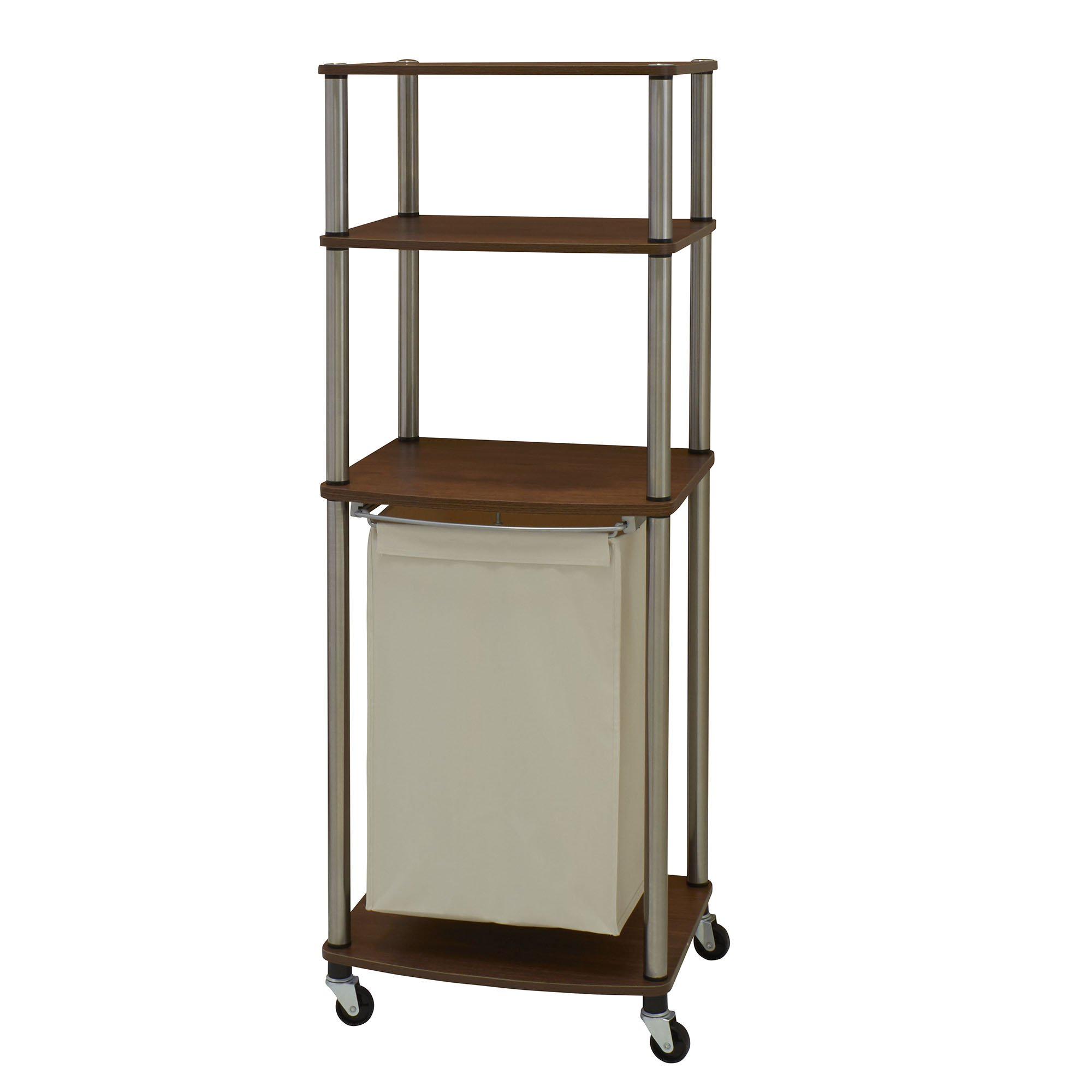 - Household Essentials Triple Laundry Sorter With Folding Table