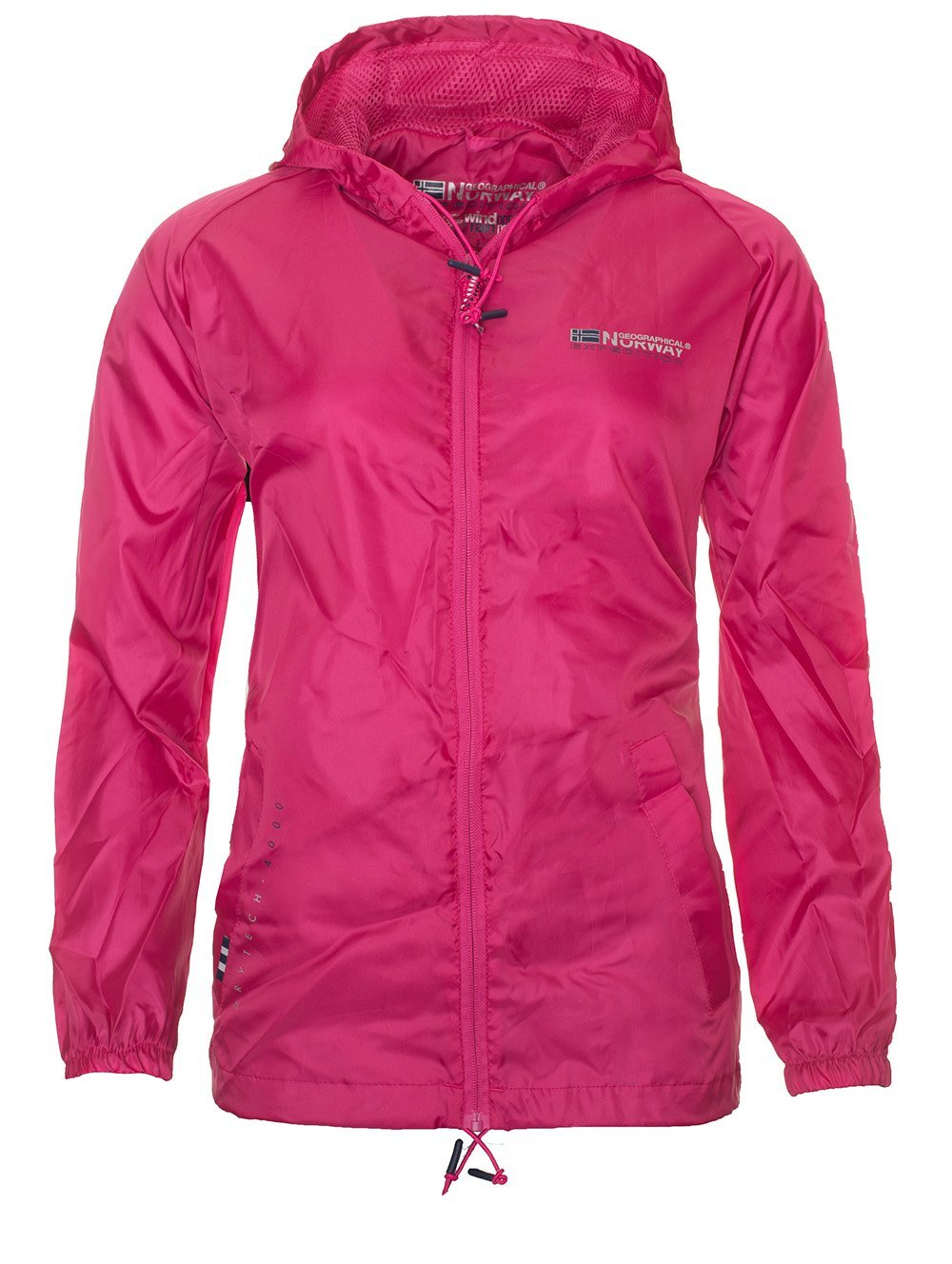 Geographical norway damen regenjacke outdoor ubergangs windbreaker regenmantel