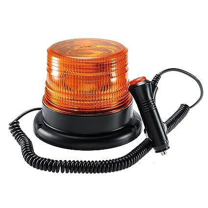 Amazon Com Antom Led Strobe Light Amber Emergency Magnetic