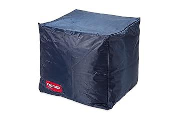 Outdoor Küche Cube : Roomox cube lounge sitzwürfel stoff 40 x 40 x 40 cm dunkelblau