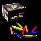 "Fun Central V78 1.5"" Mini Glow Sticks - Assorted Colors 50ct"