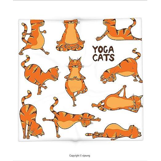 Manta de Custom printed con gato amante decoración colección ...