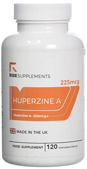 Huperzine A 225mcg By Rise Supplements 120 Vegan Capsules High
