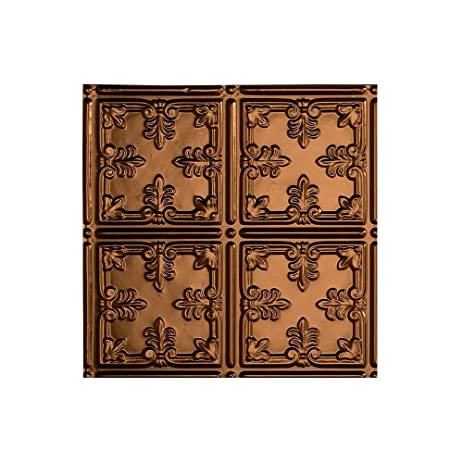 fasade traditional stylepattern 10 oil rubbed bronze glue up ceiling tile - Fasade Ceiling Tiles