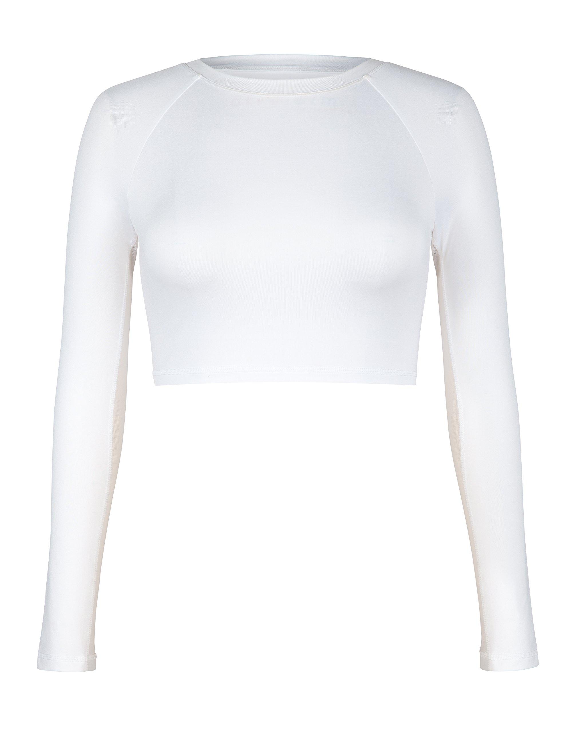 Tail Activewear Women's Sasha Crop Top Large White by Tail (Image #3)