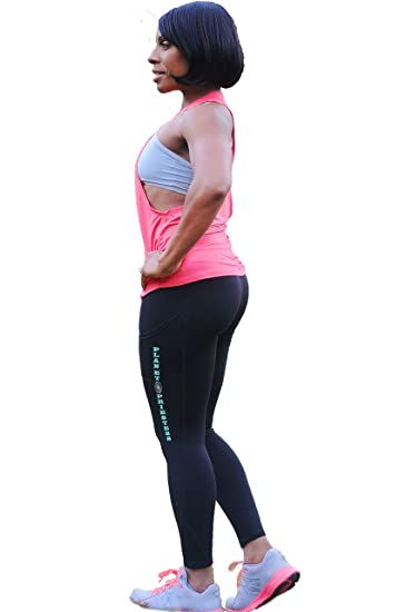 Planet Priestess Ankle Length Yoga Pants High Waist Pocket Compression Tummy Control Workout Running 4 Way Stretch Leggings