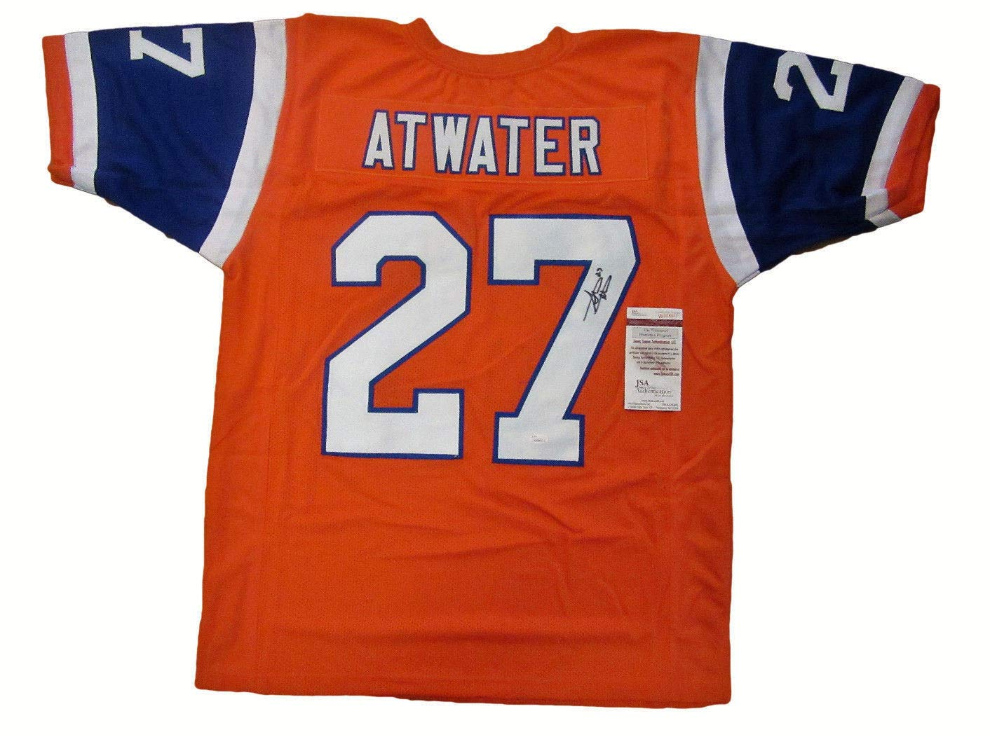 competitive price 4dada e61e4 Steve Atwater Autographed Signed Throwback Denver Broncos ...