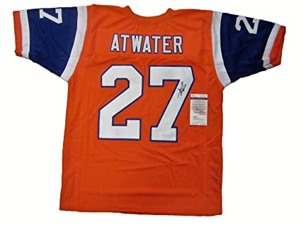 competitive price 46fce f4ef7 Steve Atwater Autographed Signed Throwback Denver Broncos ...