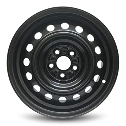 Toyota Corolla Black 15 Inch New Steel Wheel Full Size Spare Replacement  Rim (15x6u0026quot;