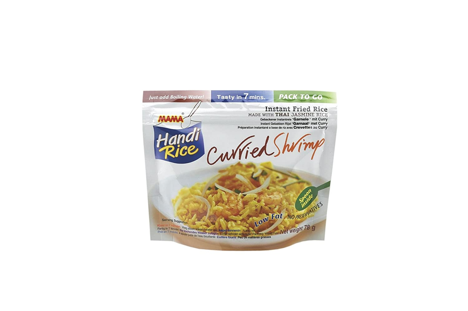 Mama - Handi Rice - Thai Curried Shrimp - 80g: Amazon.de ...