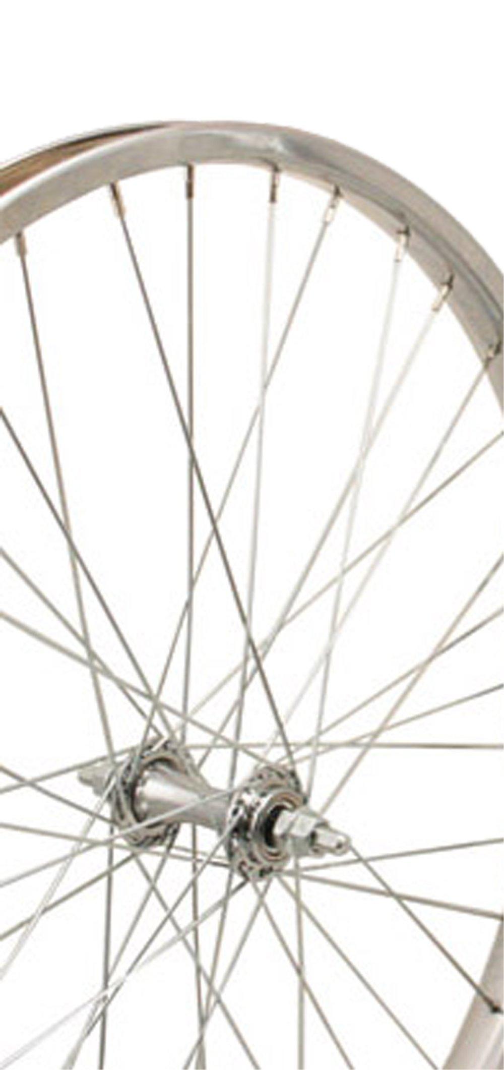 Sta-Tru Steel Hub Front Wheel (24X1.75-Inch)