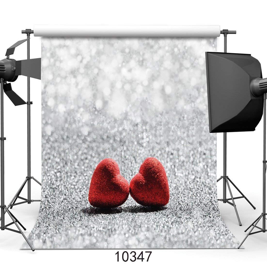 SZZWY 10x10フィート バレンタインデービニール写真背景 カスタマイズ写真背景スタジオ小道具 JLT10347   B07L5R97FG