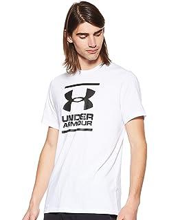 New M Under Armour UA Men/'s Sportstyle Logo SS T-Shirt White
