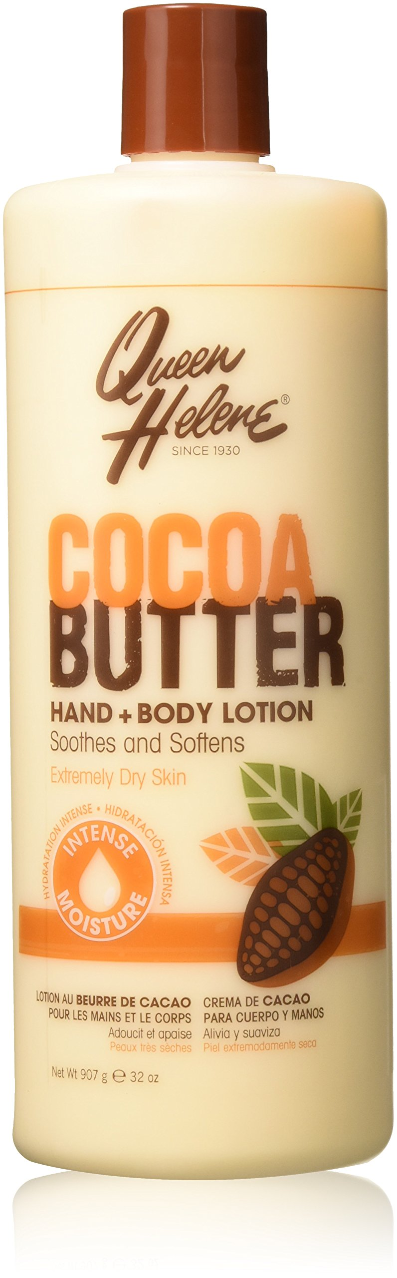 Queen Helene Lotion 32oz Cocoa Butter Hand & Body by Queen Helene pack of 2 by Queen Helene