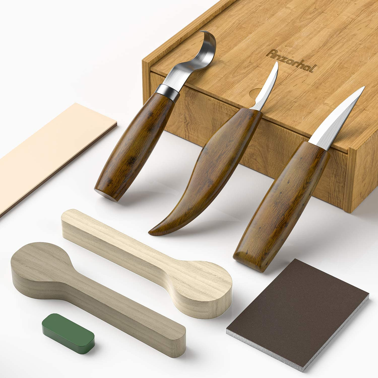Amazon.com: Wood Carving Tools,Wood Carving Kit - Wood Carving