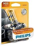 Philips 9012 HIR2 Standard Halogen Headlight Bulb, 1 Pack