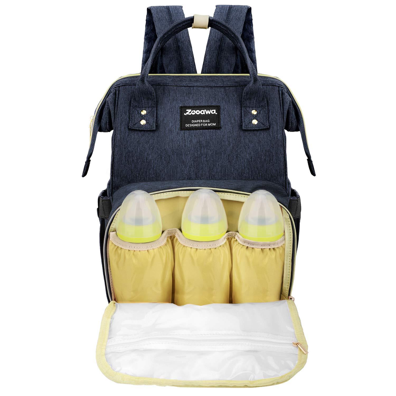 2049203ce7 Zooawa Baby Diaper Bag Backpack