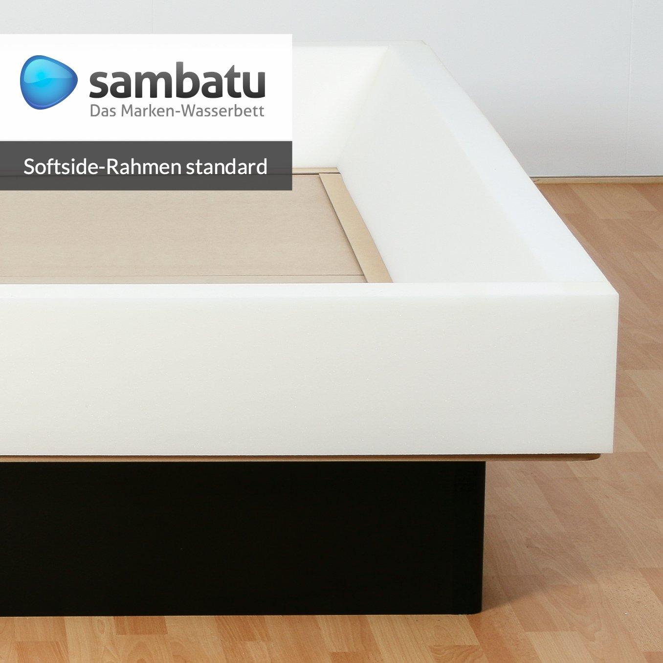 Schaumrahmen Schaumkeil für Softside Wasserbett Standard 4-teilig ...