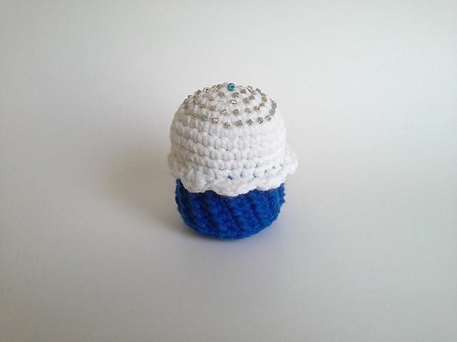 Amazon Crochet Cupcake Cupcake Pincushion Handmade