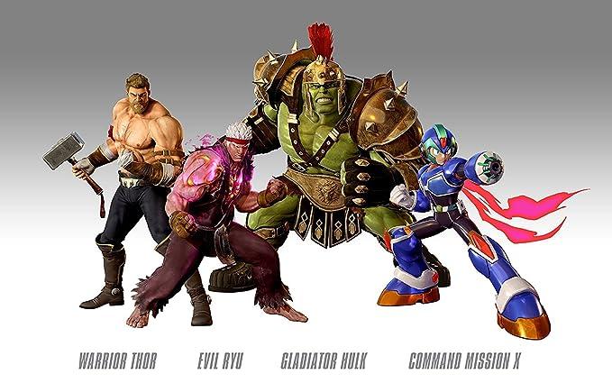 Marvel vs Capcom Infinite - Deluxe Steelbook Edition ...