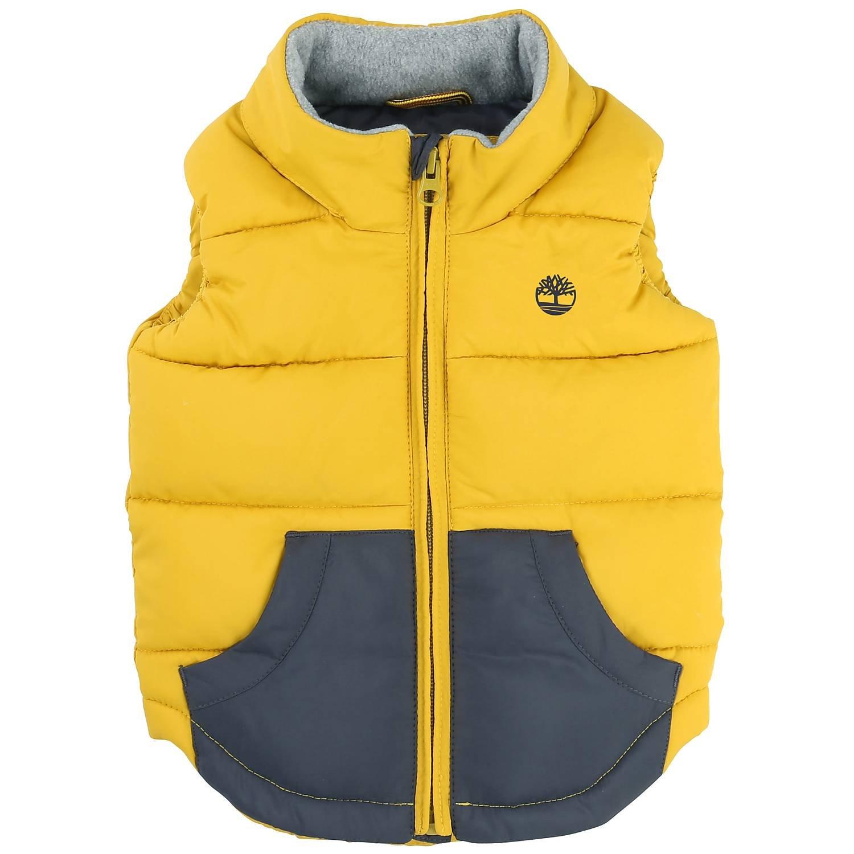 Timberland Baby-Jungen Jacke T06337 Puffer Jacket Sleeveless