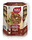 Katz, Gluten Free Everything Bagels, 13 Ounce, (1 Pack)