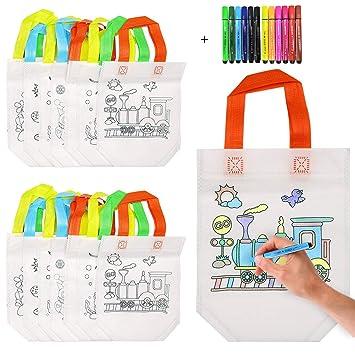Kitchen-dream Bolsas Colorear, DIY Bolsas Infantiles para ...