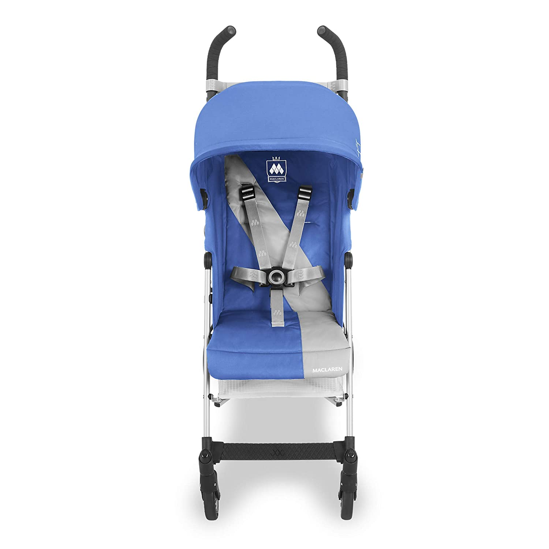 Housse de pluie incluse Capote extensible une protection UV50+ Poussette Maclaren Triumph- Ultra l/ég/ère peut supporter jusqu/à 25kg suspension aux 4 roues si/ège matelass/é lavable et inclinable
