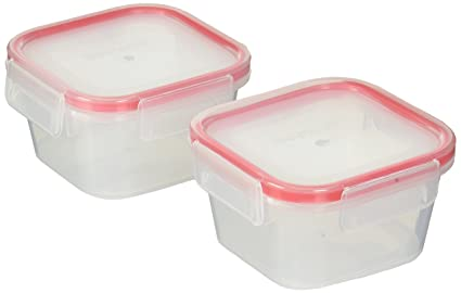 Snapware Airtight Plastic Food Storage Container Set (4 Piece)